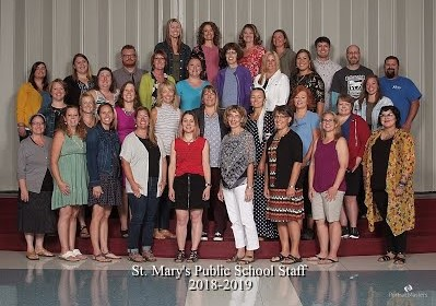 St. Mary's Staff