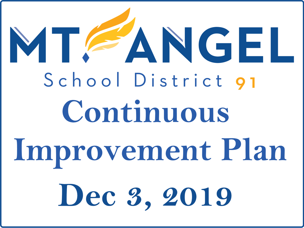 District Improvement Plan is now available