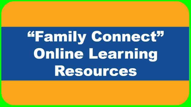 """Family Connect"" - Online Learning Resource Website"