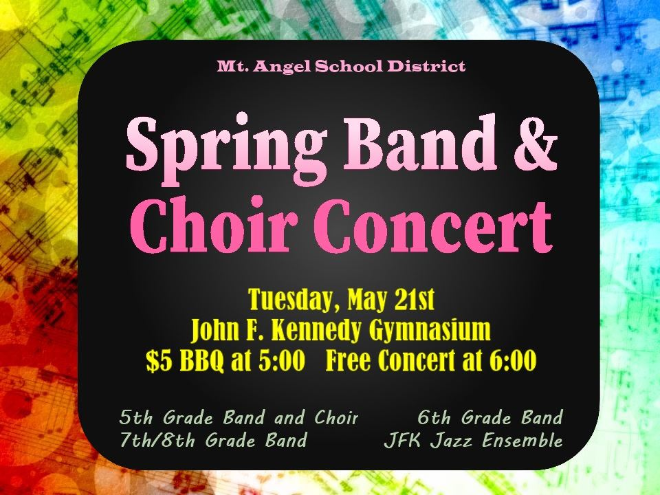 Spring Band & Choir Concert